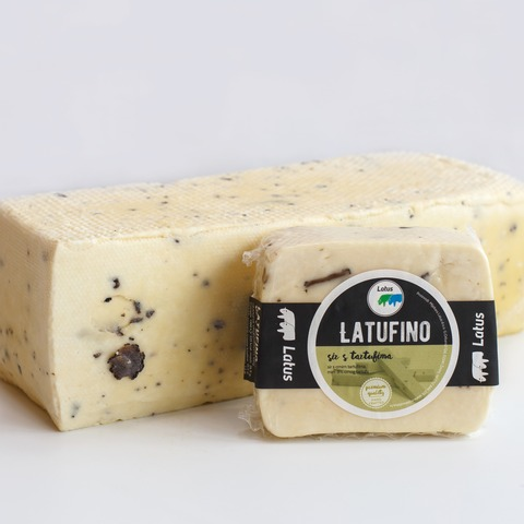 """Latufino"" cheese with Truffles"